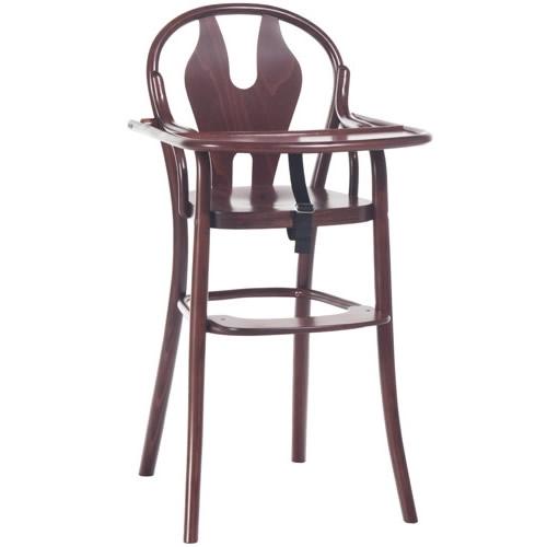 Scaun pentru copii, din lemn de fag Petit 114 Brown, l48xA57xH93 cm imagine
