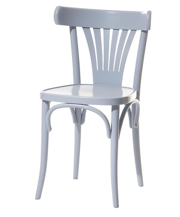 Scaun din lemn de fag 056 Grey, l44,5xA48xH80 cm