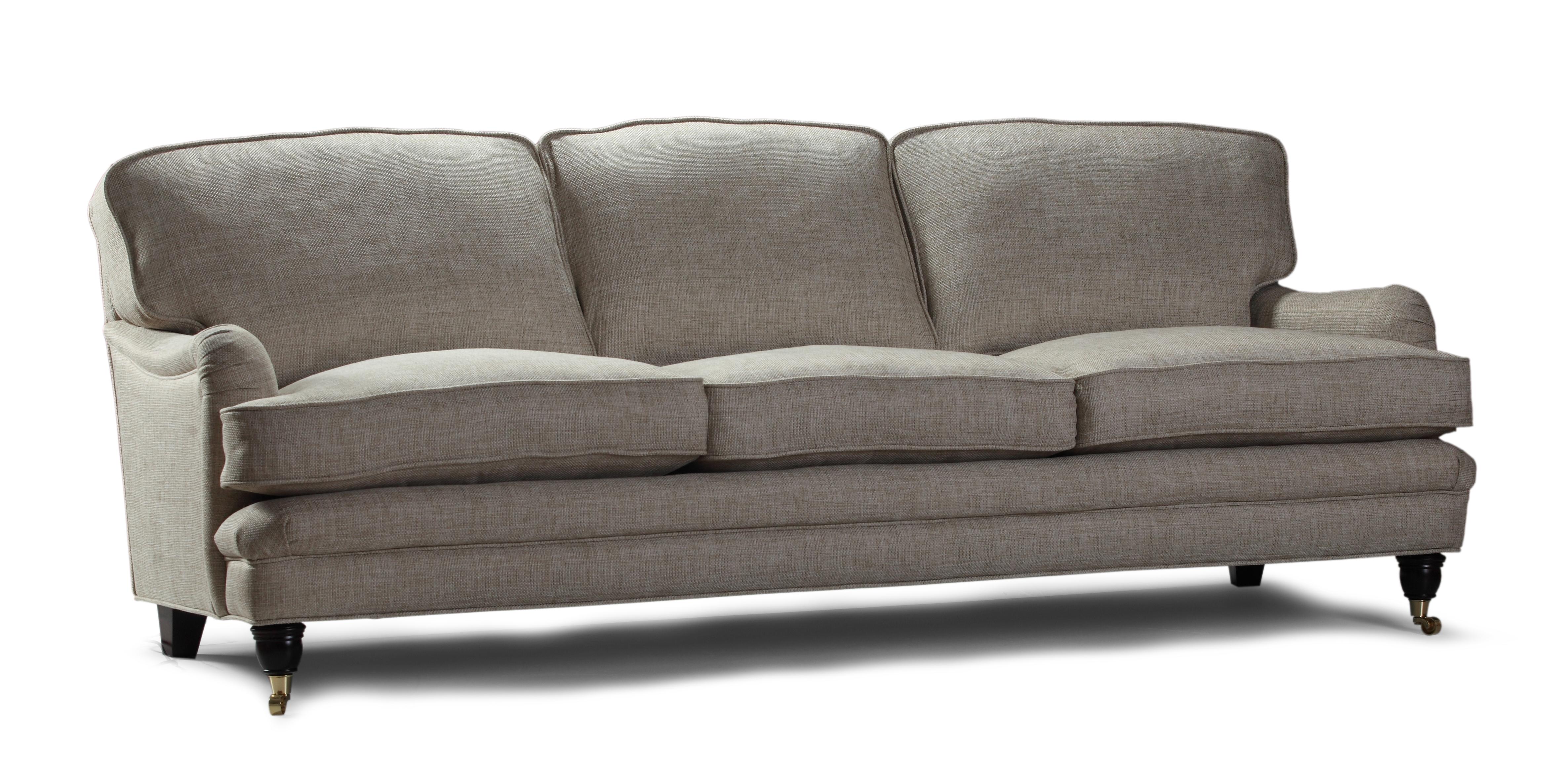 Canapea fixa 3 locuri tapitata cu stofa Ralf