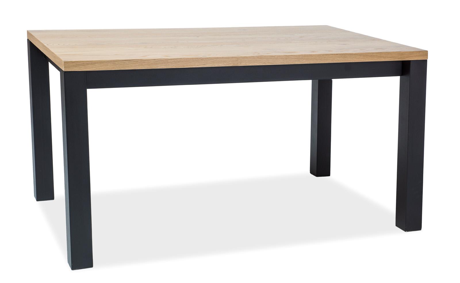 Masa din metal si lemn de stejar Imperial Dab L150xl90xh77 cm