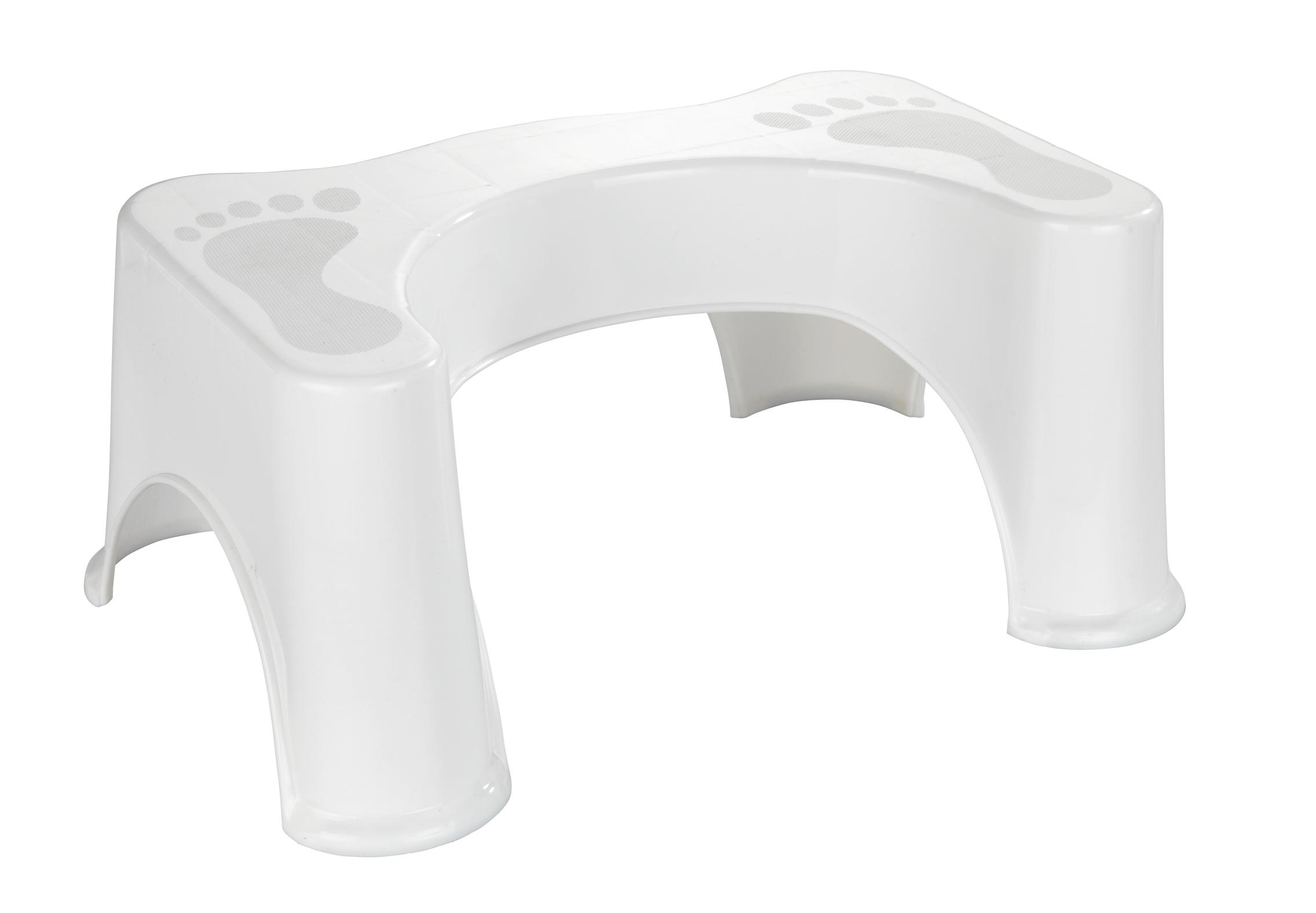Inaltator / Treapta din plastic pentru toaleta, Secura Premium Alb, l48xA33,5xH20,5 cm poza
