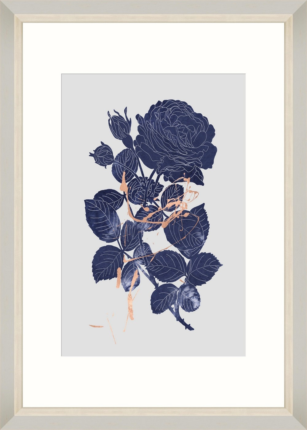 Tablou Framed Art Indigo Rose