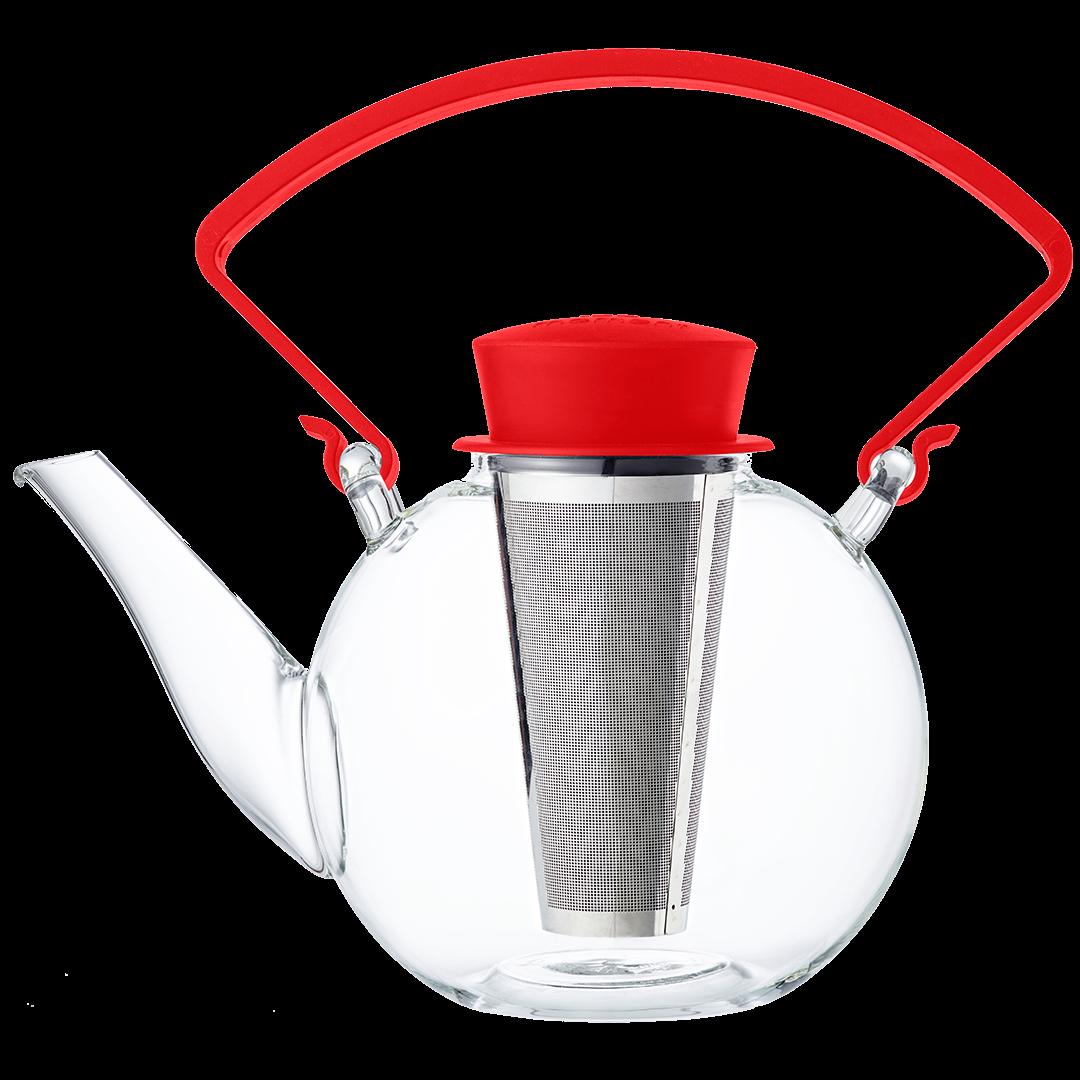 Infuzor ceai 4 U Red QDO 1 L