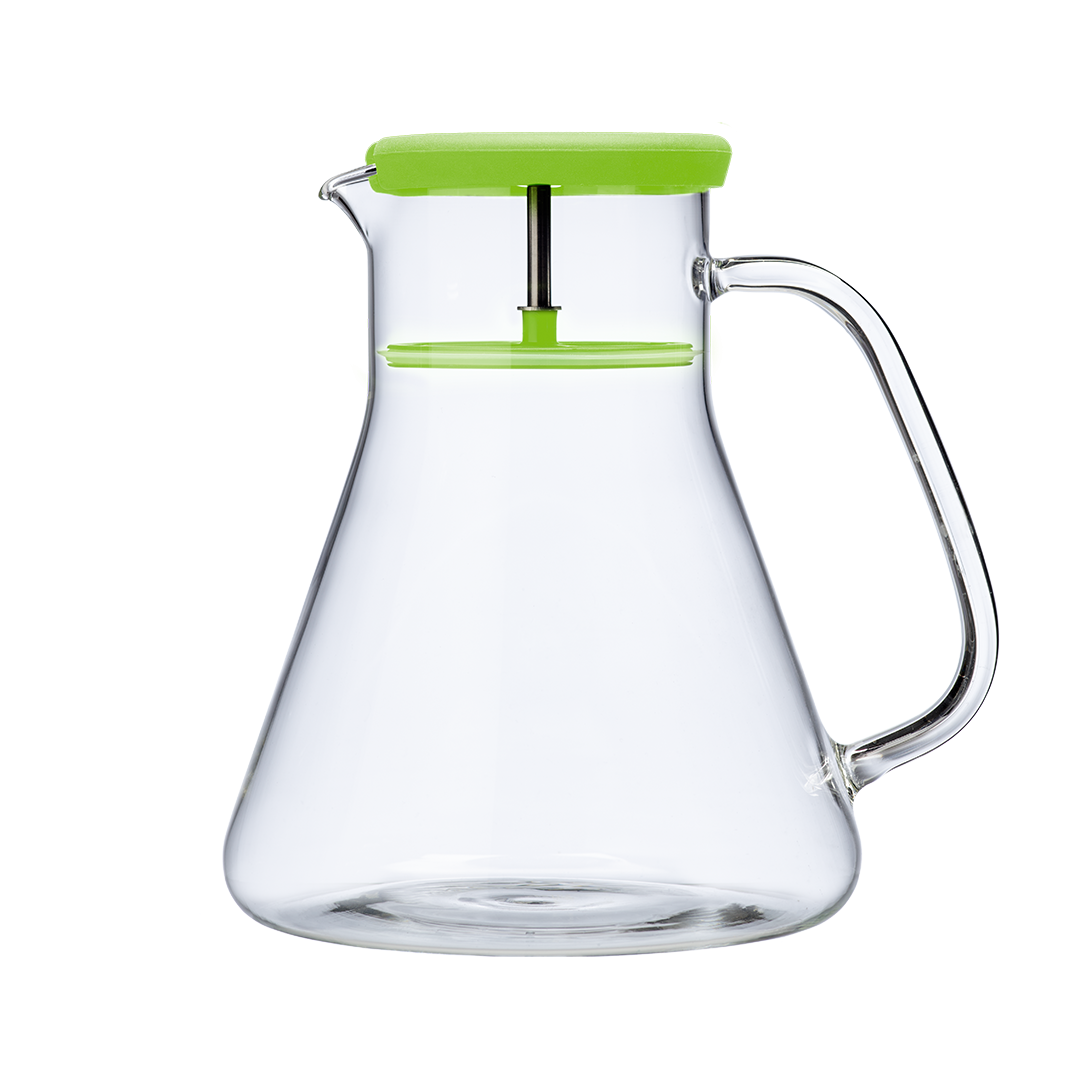 Infuzor ceai Dancing Leaf Green QDO 12 L