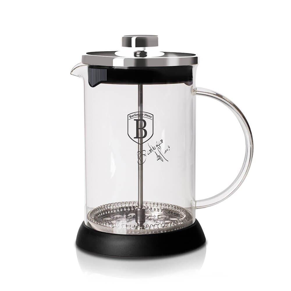 Infuzor pentru cafea si ceai, 600 ml, Black Silver