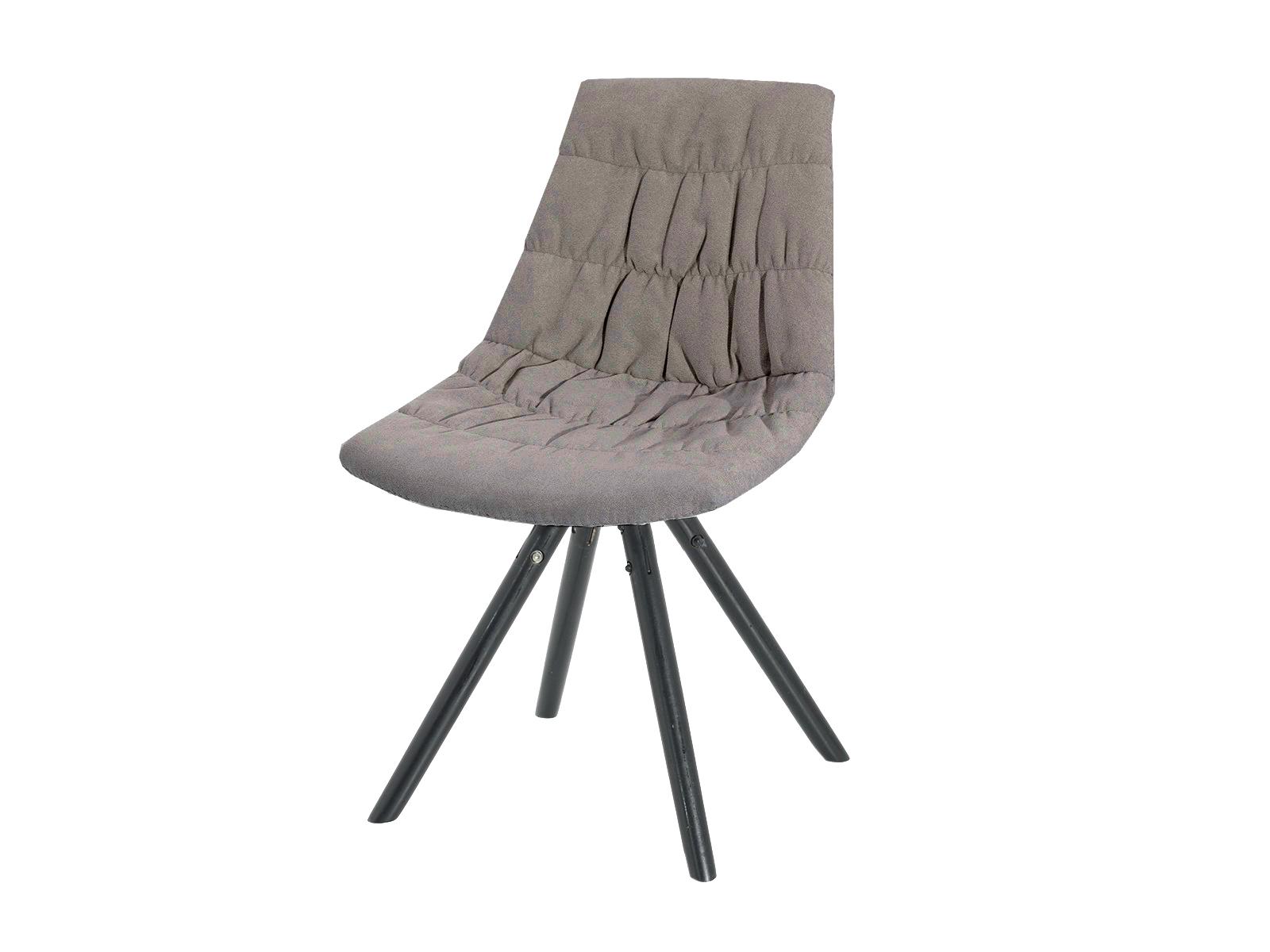 Scaun tapitat cu stofa cu picioare de lemn Klass Intense l47xA54xH80 cm