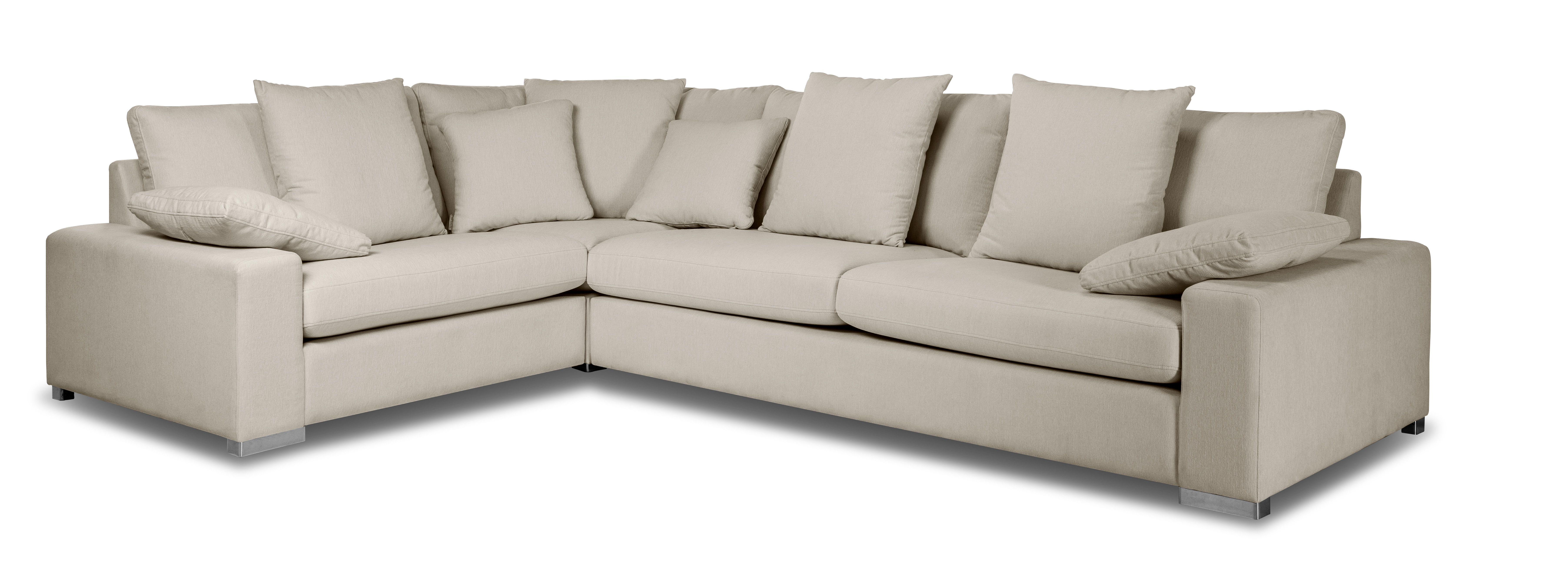 Coltar fix Italia Komfort cu sezlong pe stanga