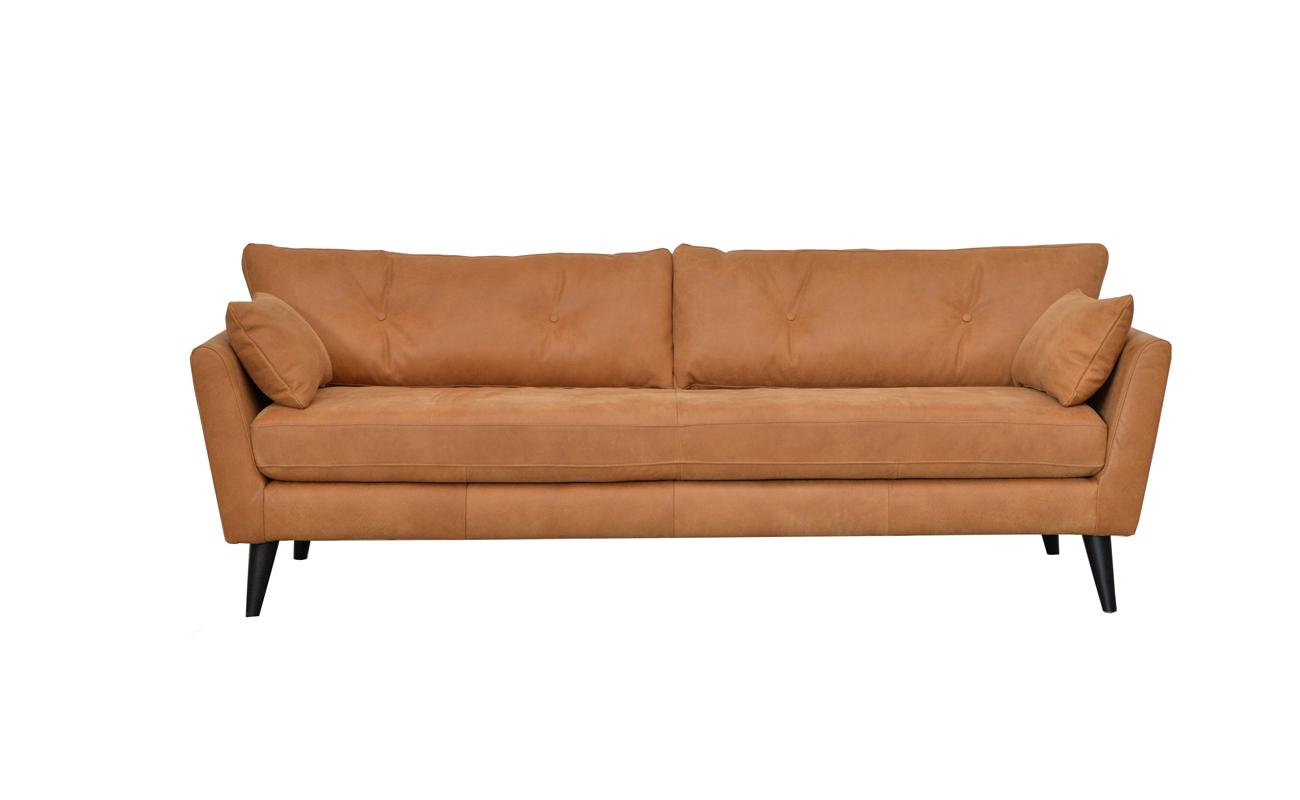 Canapea fixa 2,5 locuri Jefferson Cognac