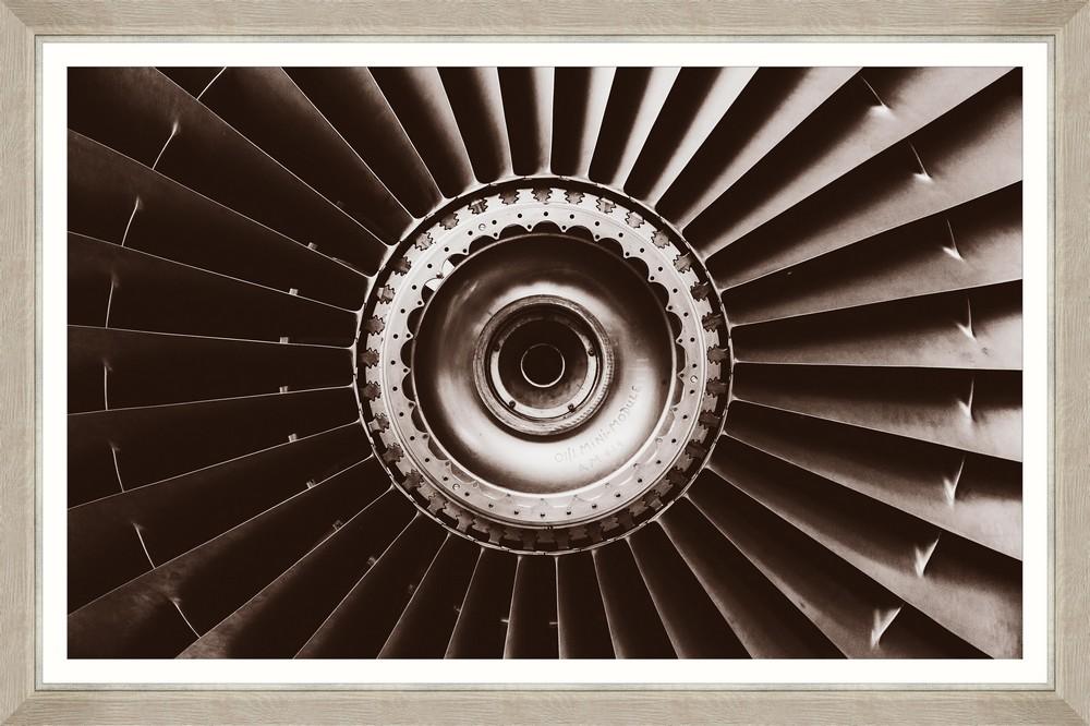 Tablou Framed Art Jet Airplane Sepia I