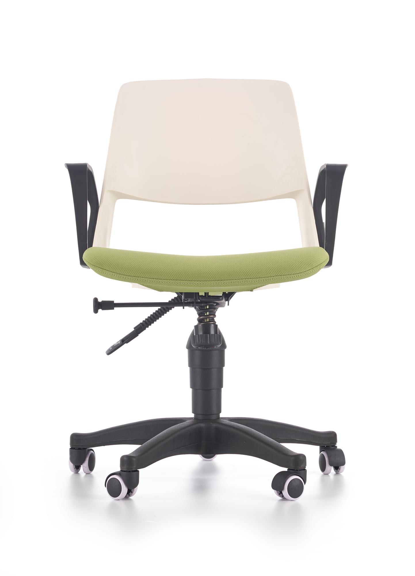 Scaun de birou pentru copii Jumbo White / Green