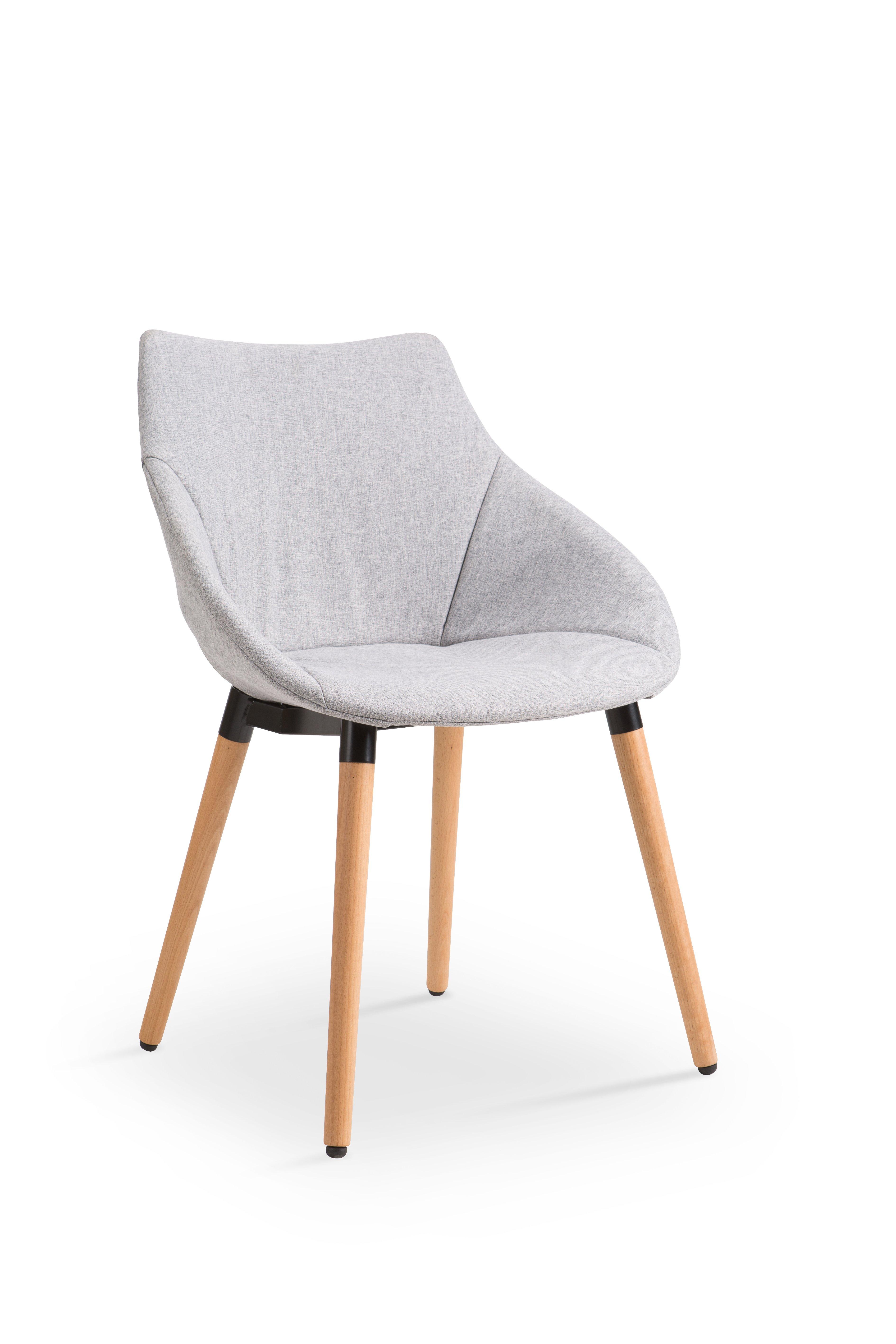 Scaun din lemn tapitat cu stofa K226