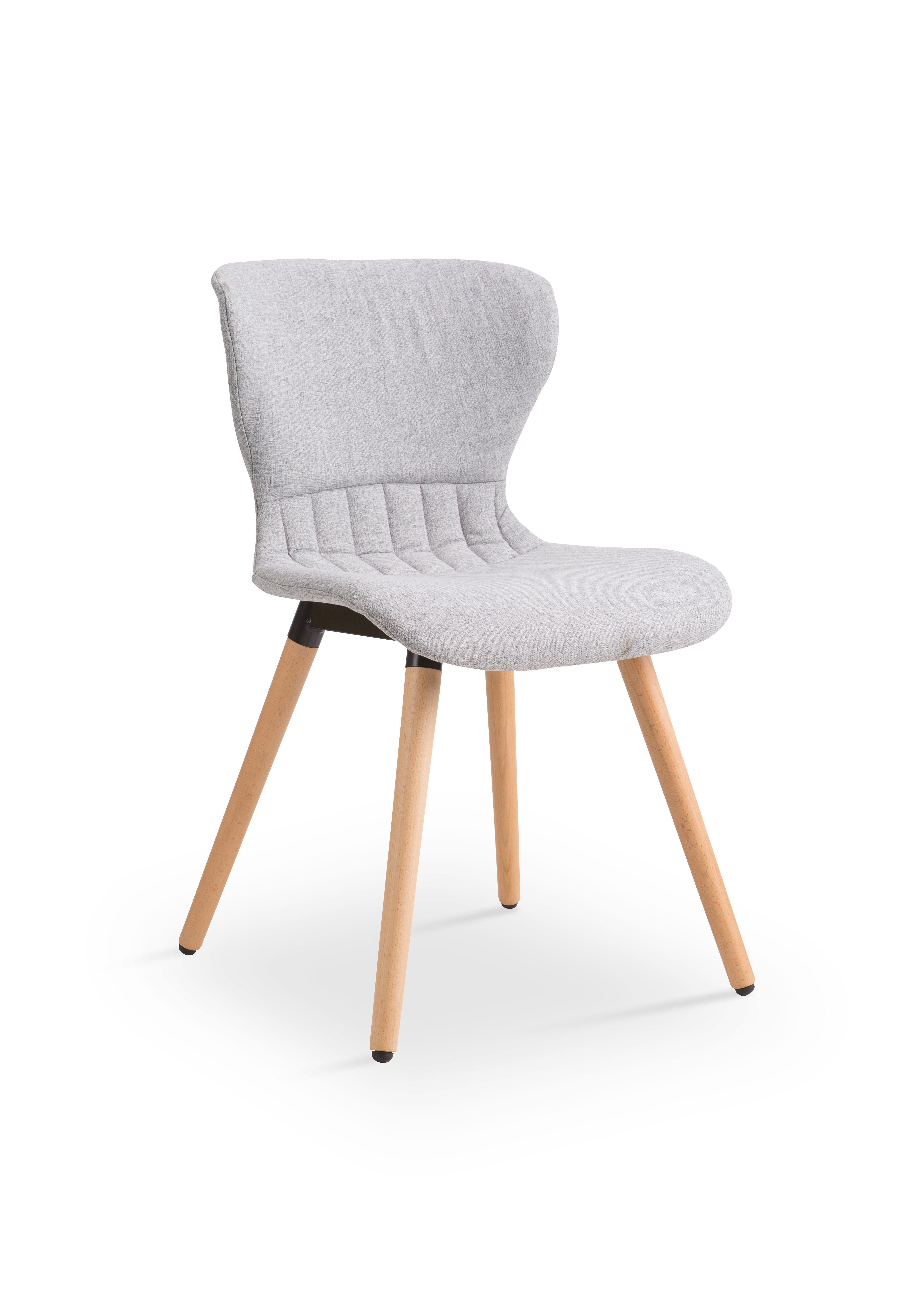 Scaun din lemn tapitat cu stofa K227