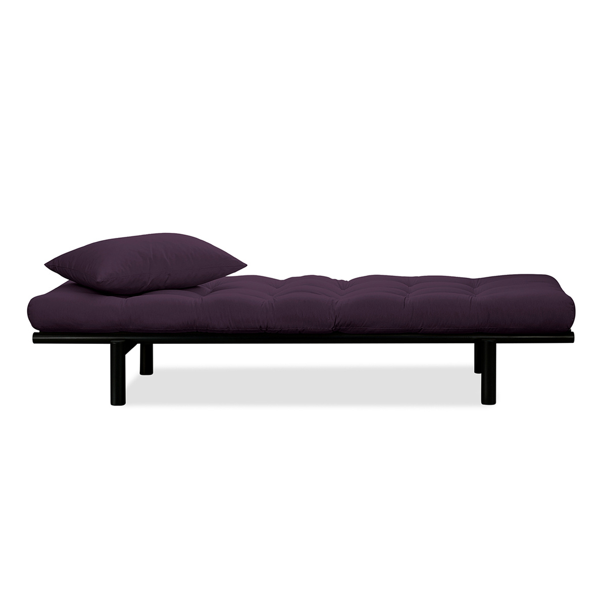 Canapea fixa Pace Day-Bed Black II