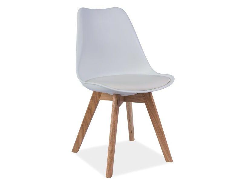 Scaun din lemn Kris White