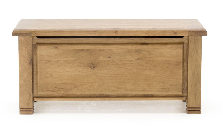 Lada de depozitare din lemn de stejar York Oak l109xA45xH50 cm
