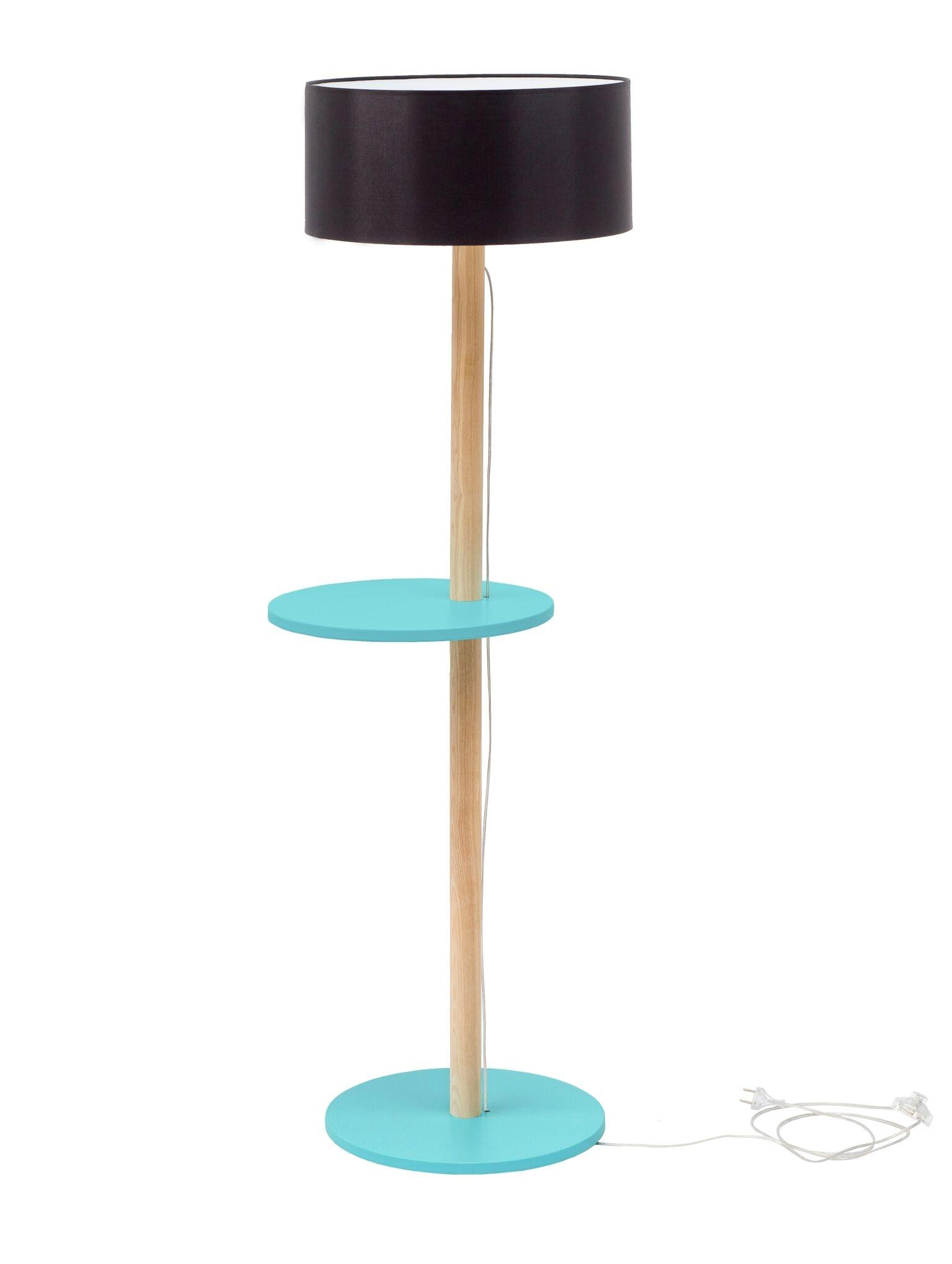 Lampadar Lamp Ufo Black / Dark Turquoise