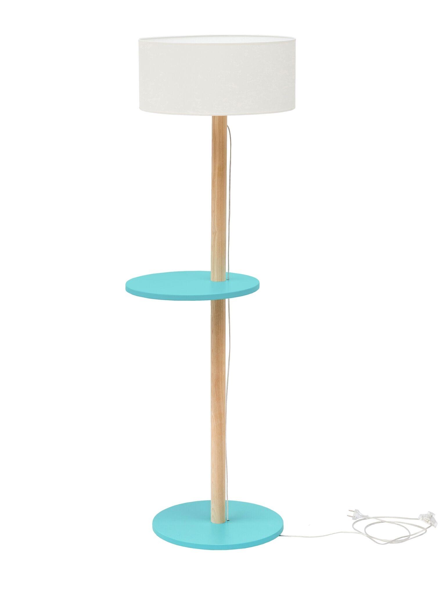 Lampadar Lamp Ufo White / Dark Turquoise