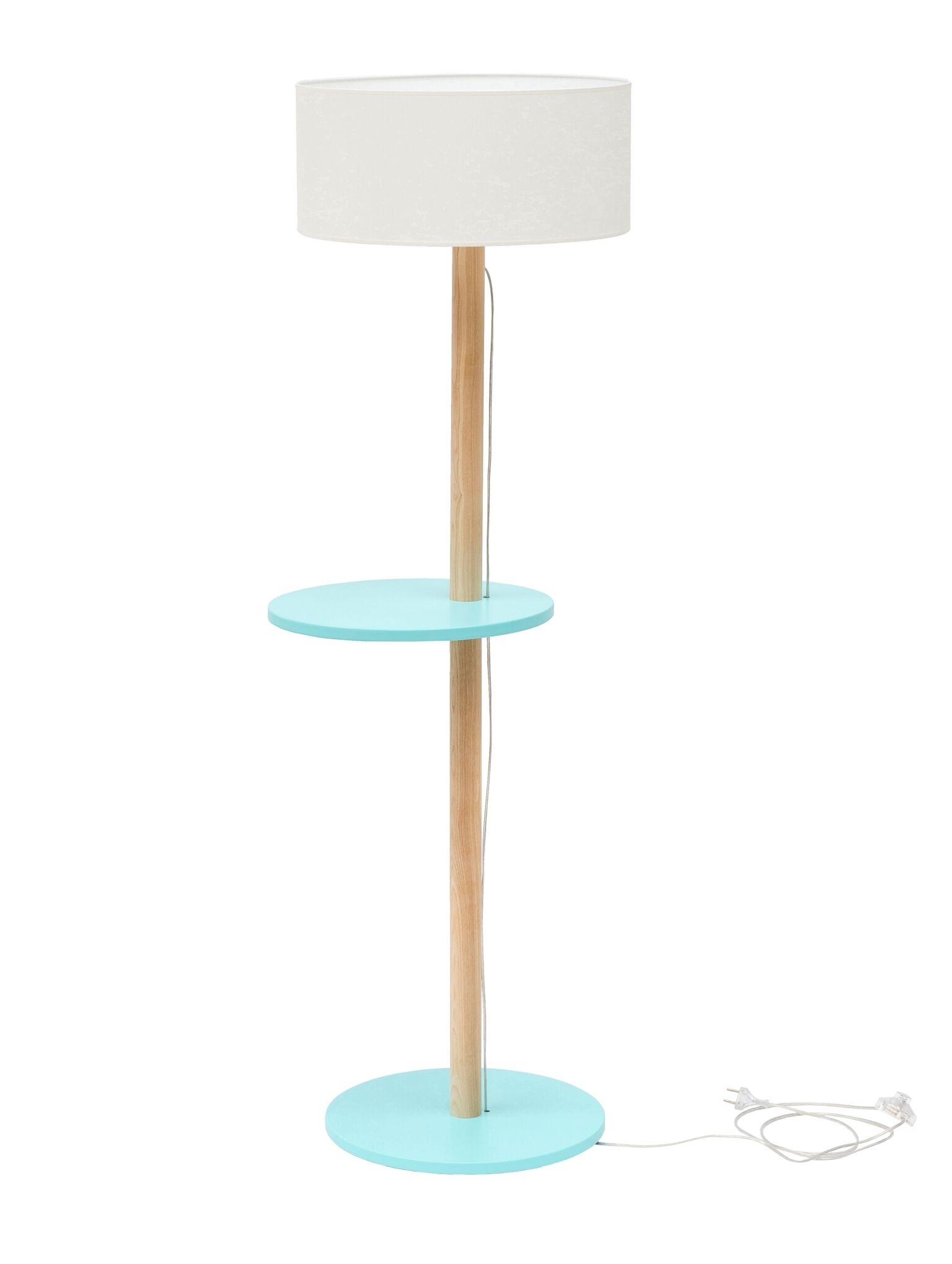 Lampadar Lamp Ufo White / Light Turquoise