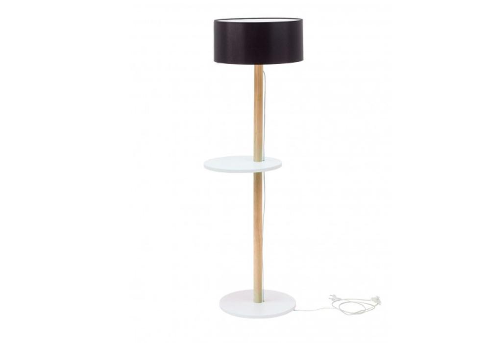 Lampadar Lamp Ufo White / Black