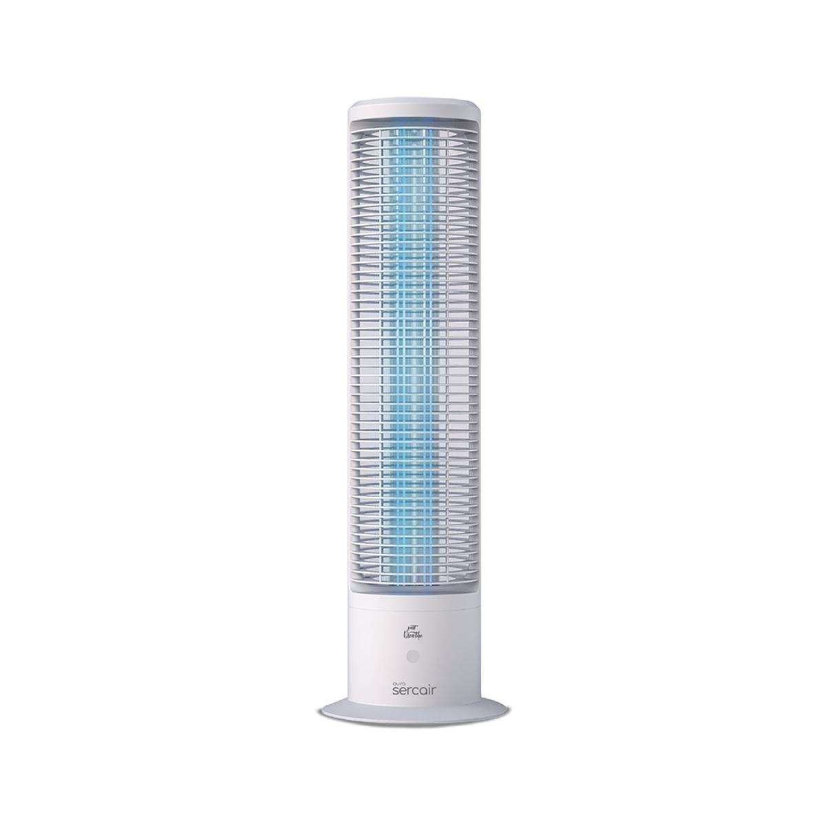 Lampa UVC pentru sterilizare, Model D9001, 36 W / 60 W, Senzor de prezenta, Aura, Alb, Sercair