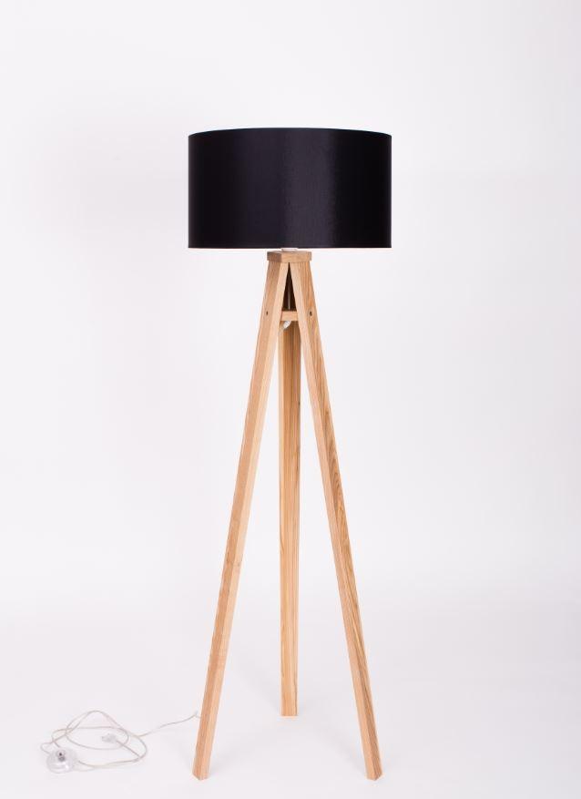 Lampadar Lamp Wanda Black / Ash
