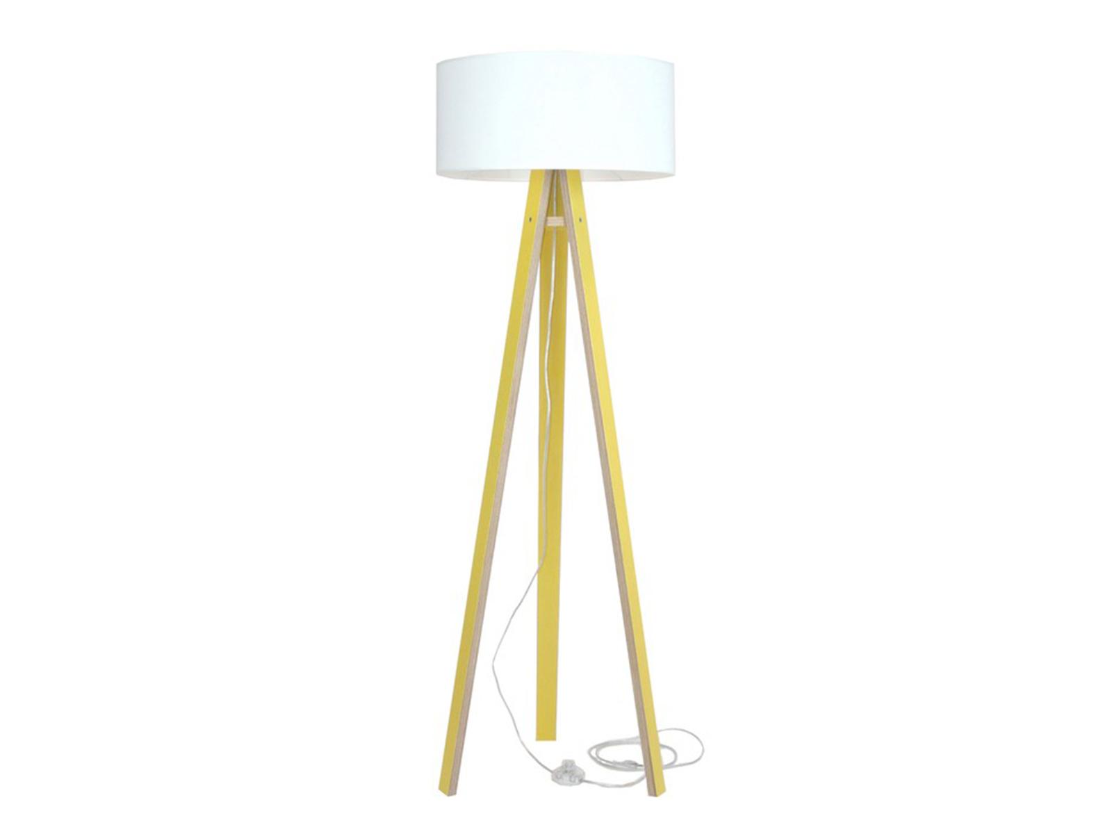 Lampadar Lamp Wanda White Yellow