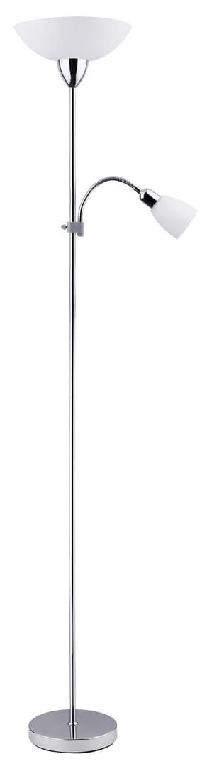 Lampadar Diana 4059 Crom / Alb imagine