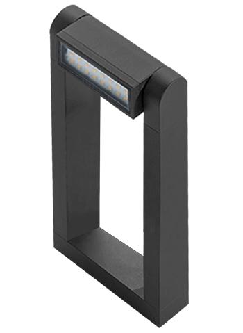 Lampadar Frame Spike Gri inchis, AZ2128 imagine