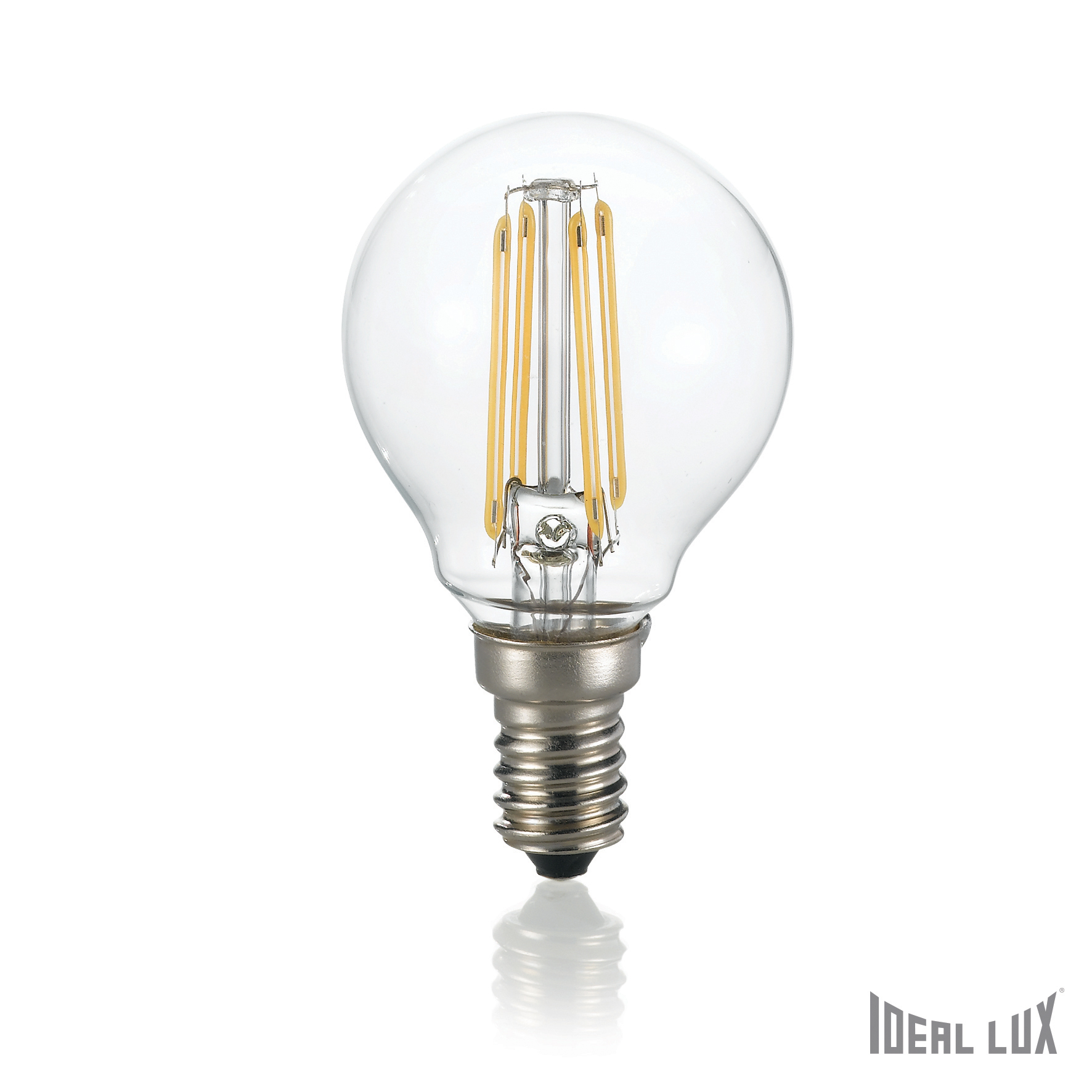 Bec LED E14 Sfera-Transparent imagine