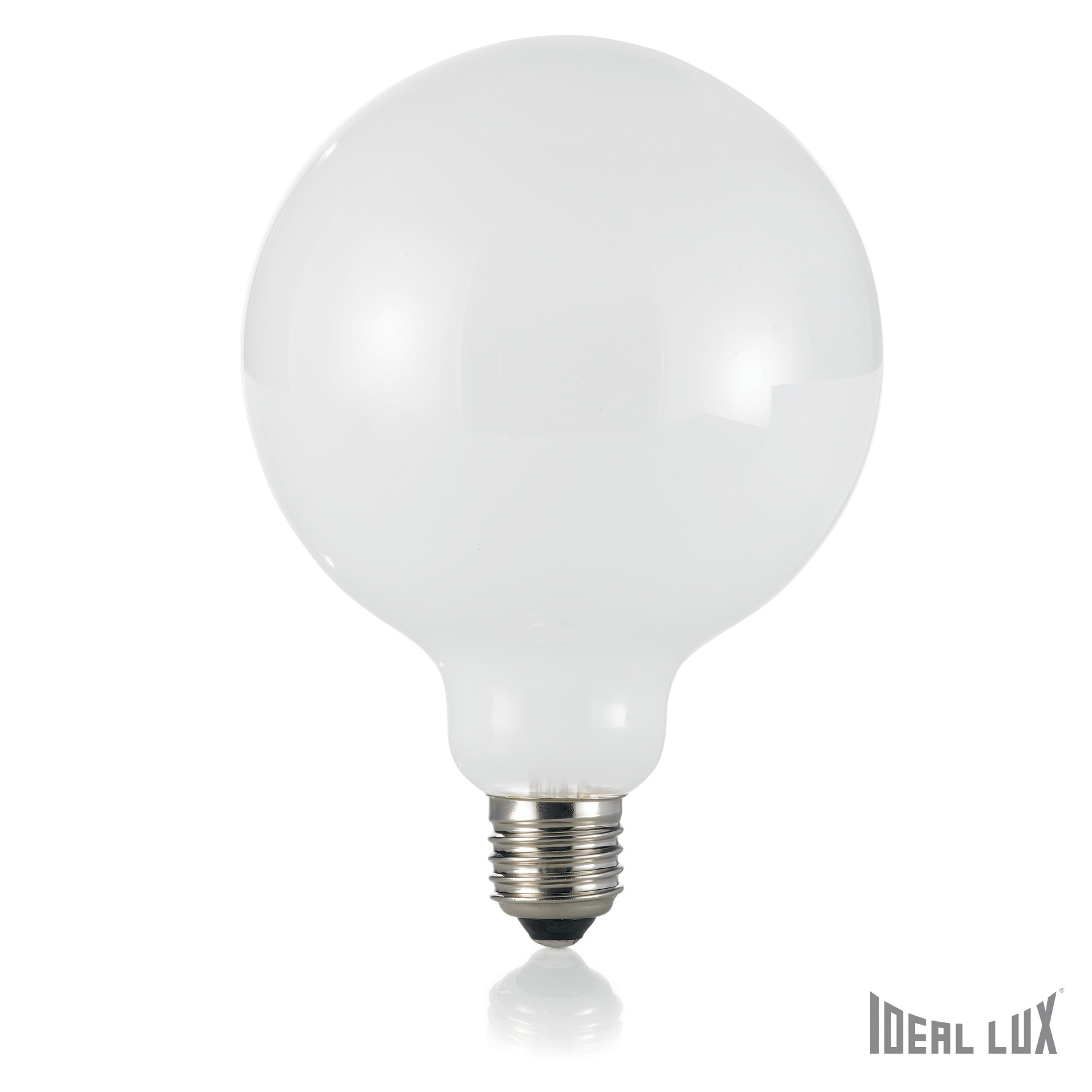 Bec LED 8W Globo D12-Alb imagine