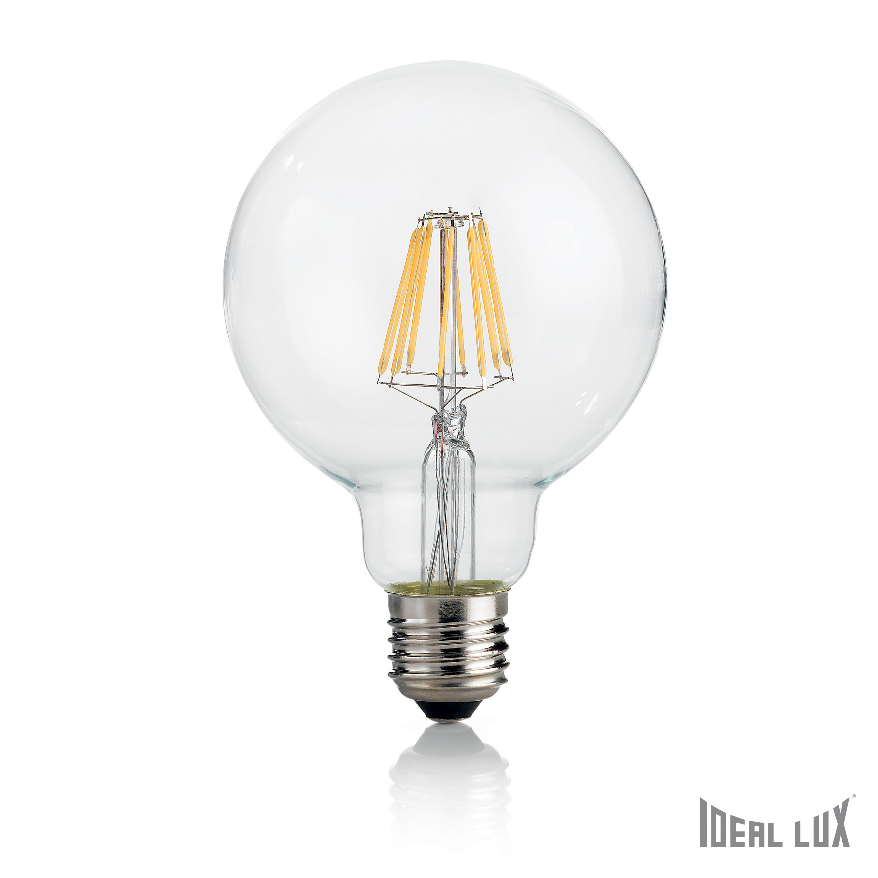 Bec LED 8W Globo D95-Transparent poza