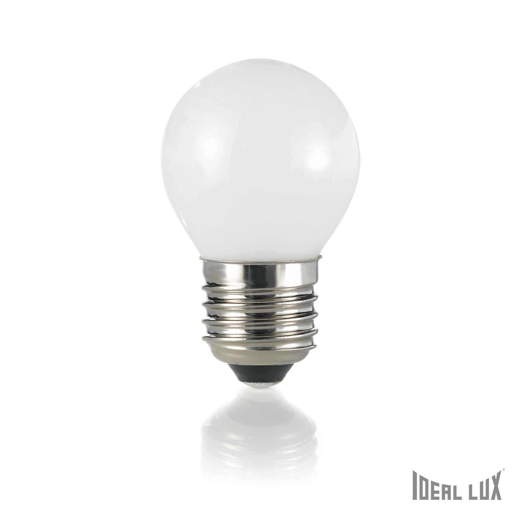 Bec LED E27 Sfera-Alb imagine