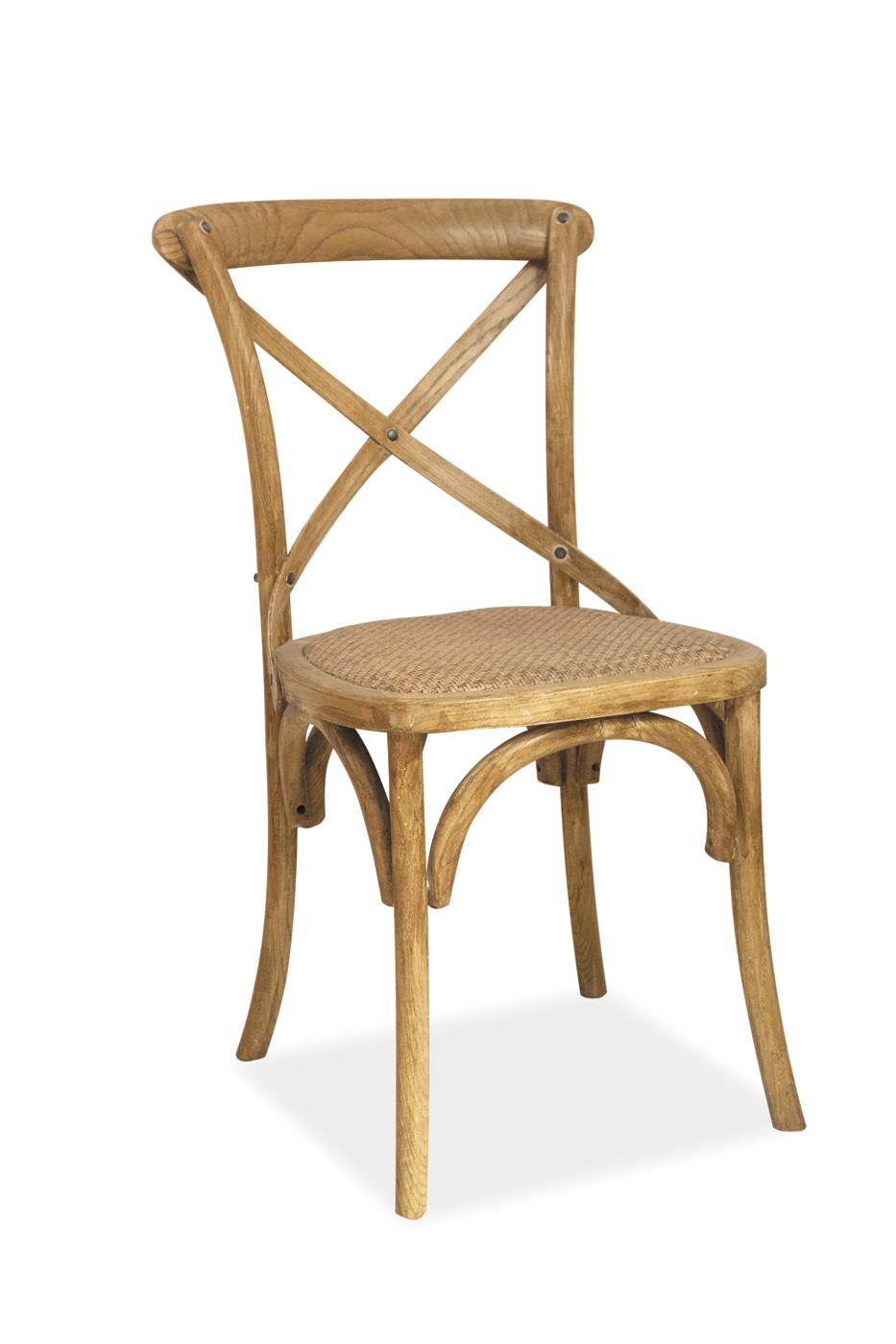 Scaun din lemn Lars Stejar