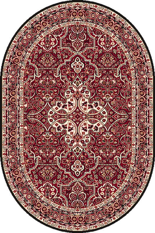 Covor Laurus Dark Red Oval, Wilton