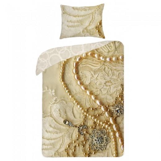 Lenjerie de pat copii Cotton Pearl SCI075-200 x 140 cm