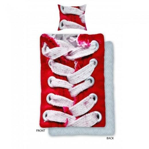 Lenjerie de pat copii Cotton Sneakers SCI0012-200 x 160 cm imagine 2021