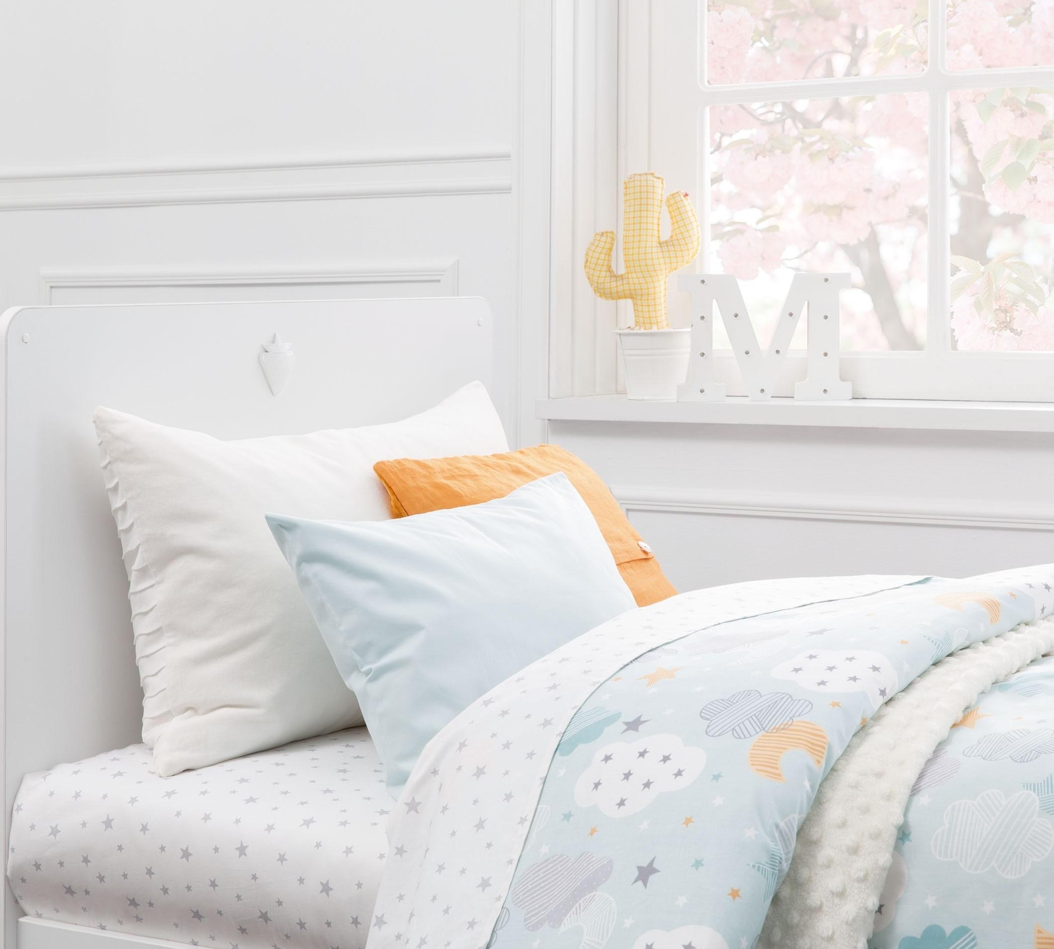 Lenjerie de pat copii bumbac Sky Verde Mint imagine