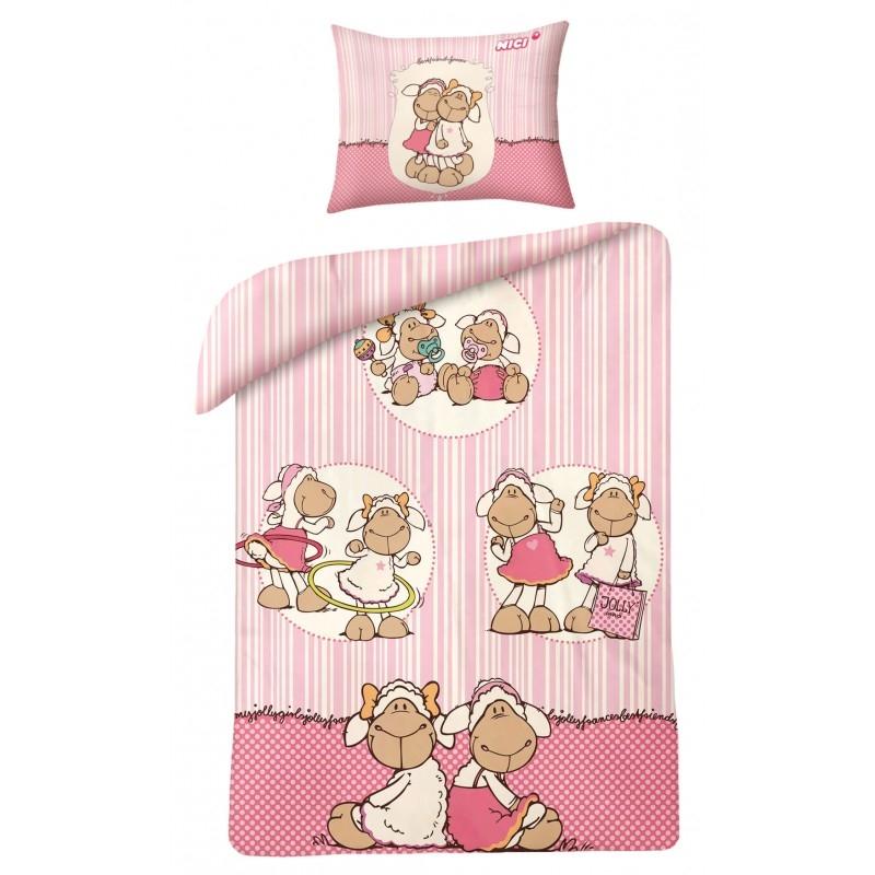 Lenjerie de pat copii Cotton Nici NJA0060-200 x 160 cm poza