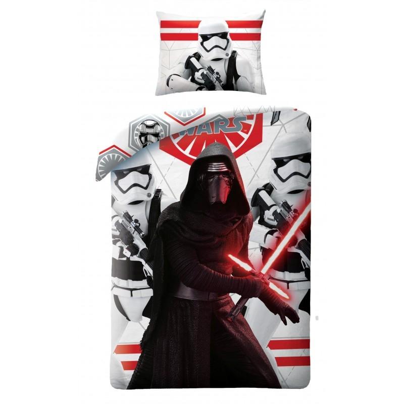 Lenjerie de pat copii Cotton Star Wars STAR747BL-200 x 140 cm