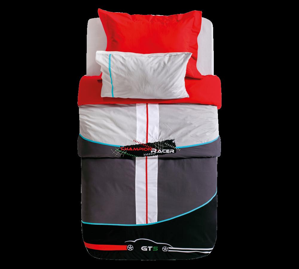 Lenjerie de pat copii GTS Multicolour-1 pers-160 x 216 cm