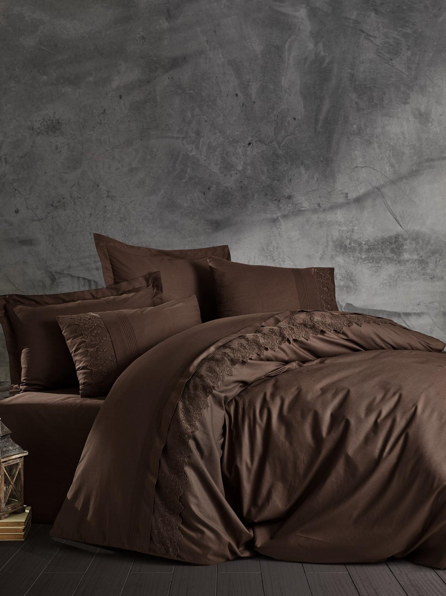 Lenjerie de pat din bumbac Ranforce Enzo Maro, 200 x 220 cm imagine