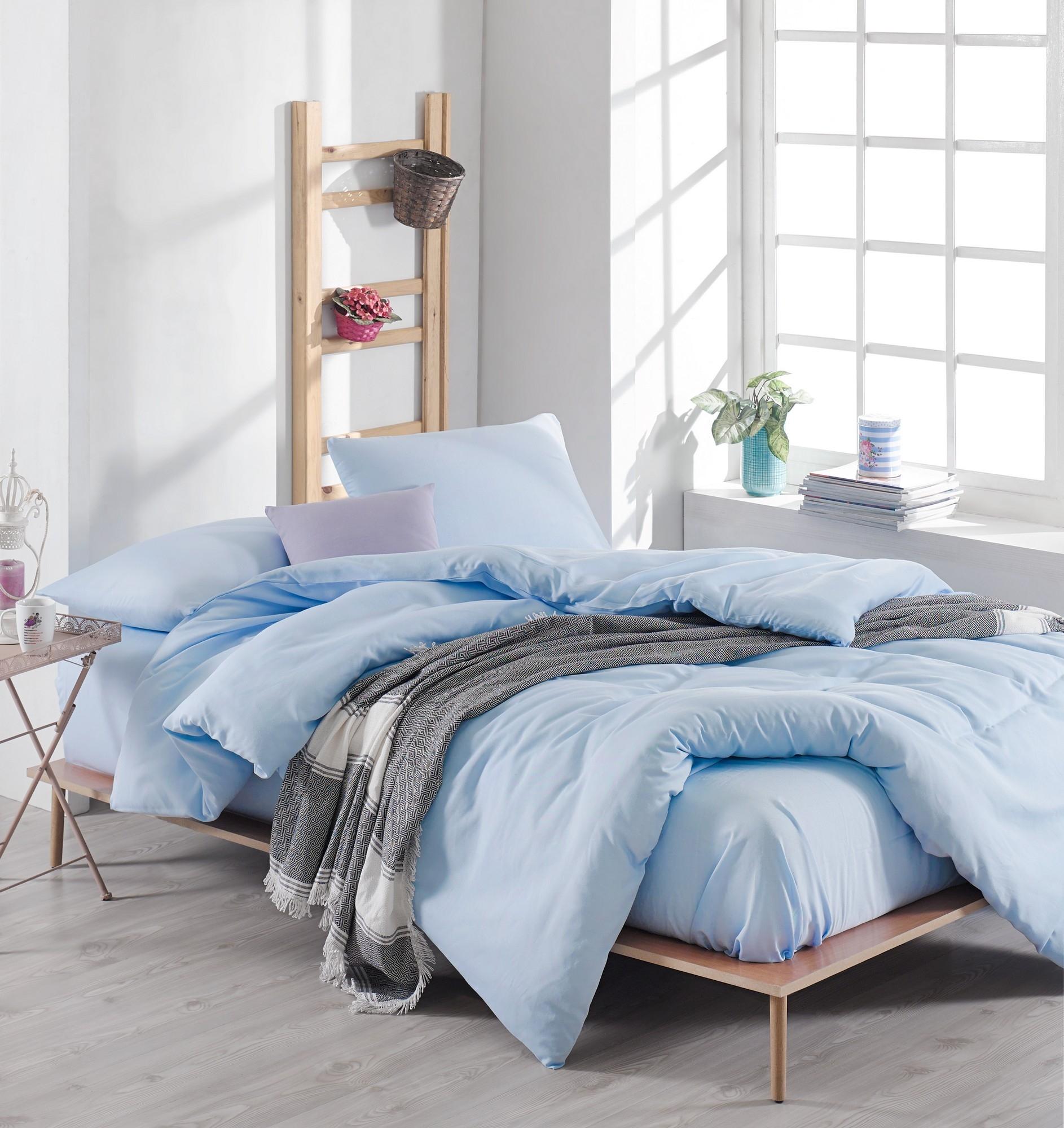 Lenjerie de pat Duzboia Bleu, 200 x 220 cm imagine
