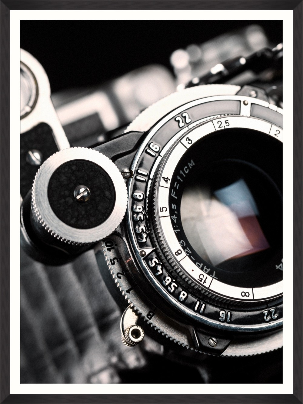 Tablou Framed Art Lens Closeup I imagine