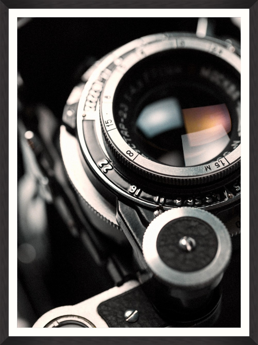 Tablou Framed Art Lens Closeup II