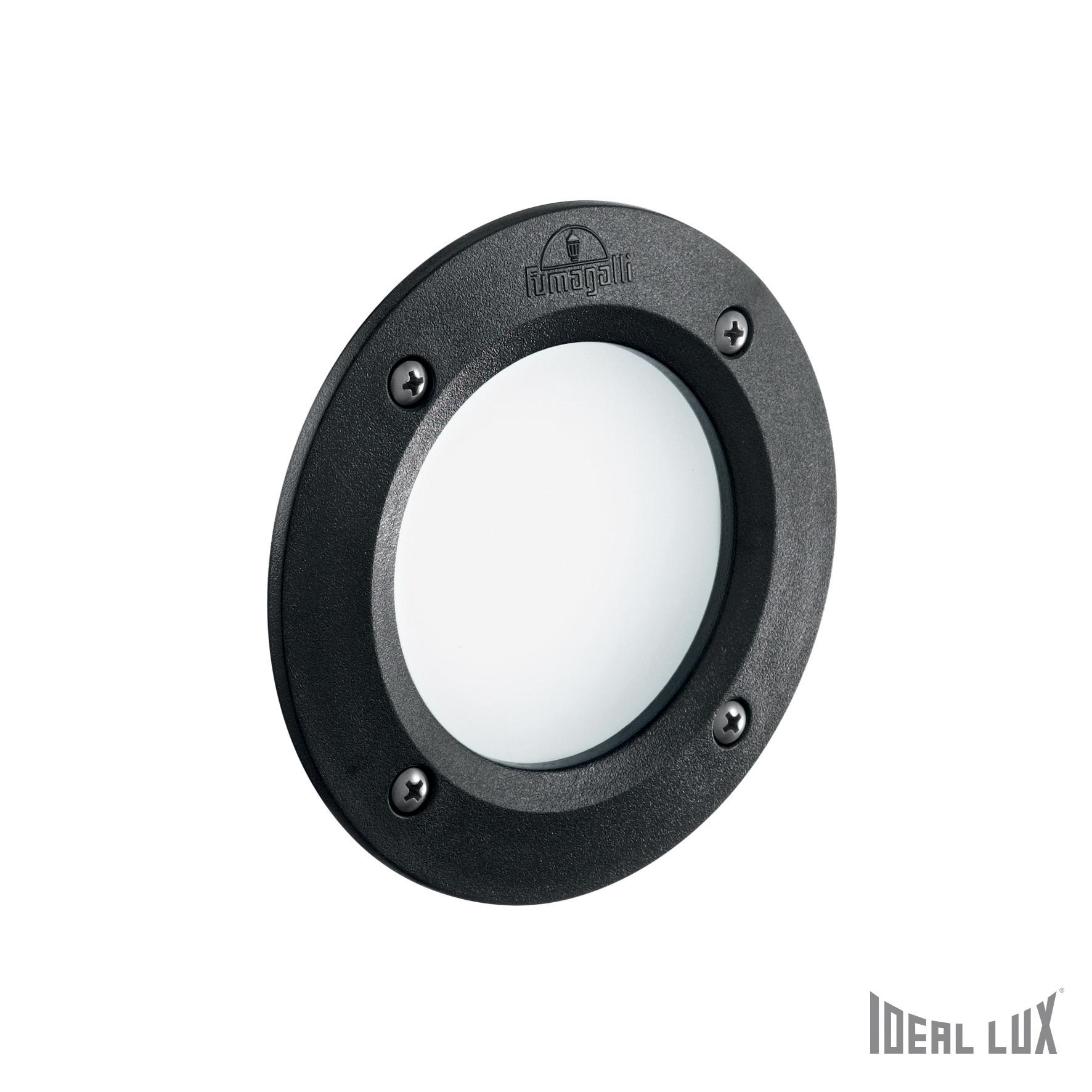 Spot Leti Round FI1 Bianco-Negru imagine