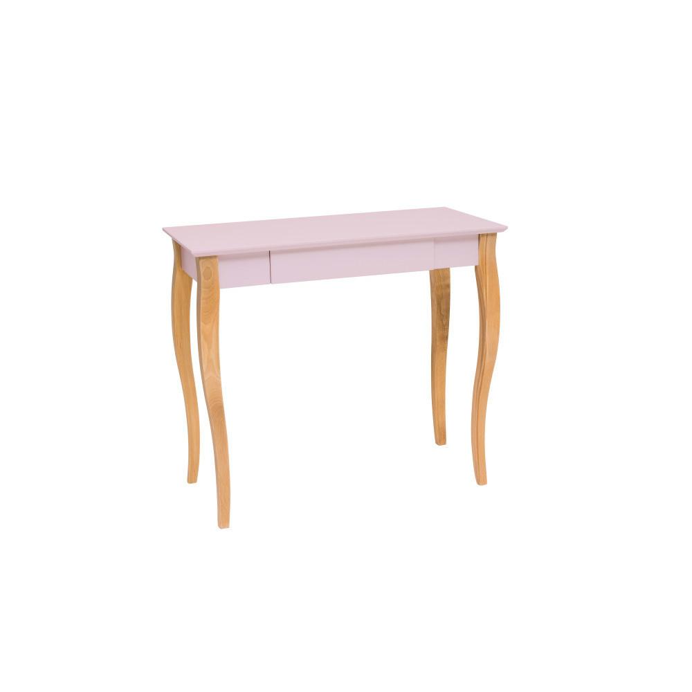 Masa de birou Lillo Medium Dusky Pink, L85xl40xh74 cm