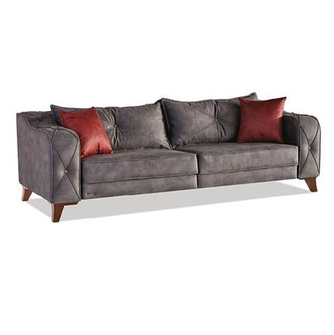 Canapea extensibila 3 locuri Lima Grey K3