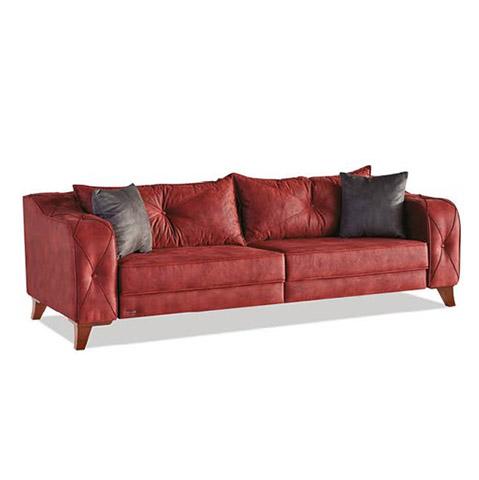 Canapea Extensibila 3 Locuri Lima Red