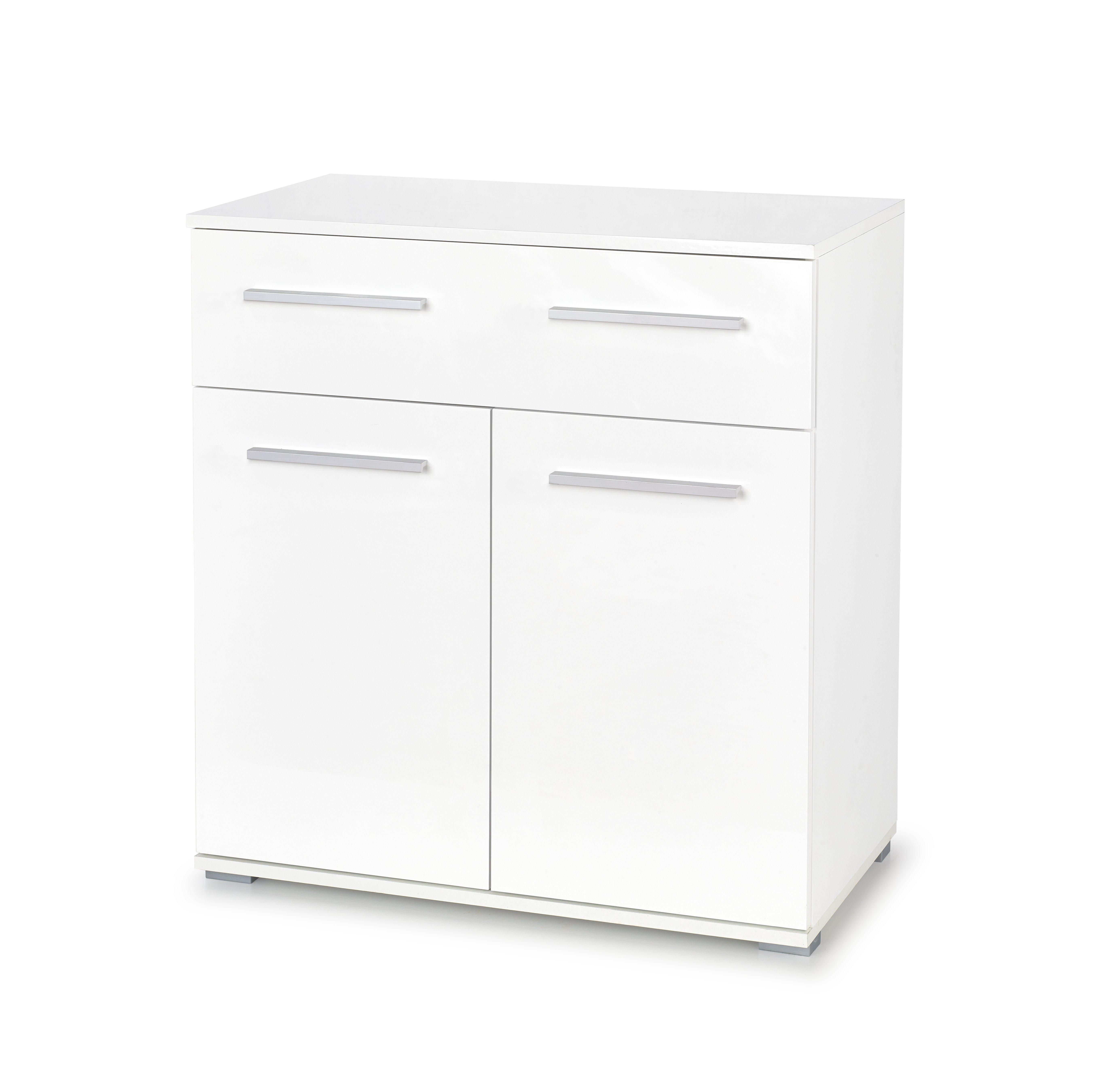 Comoda Lima KM-1 White l77xA40xH82 cm