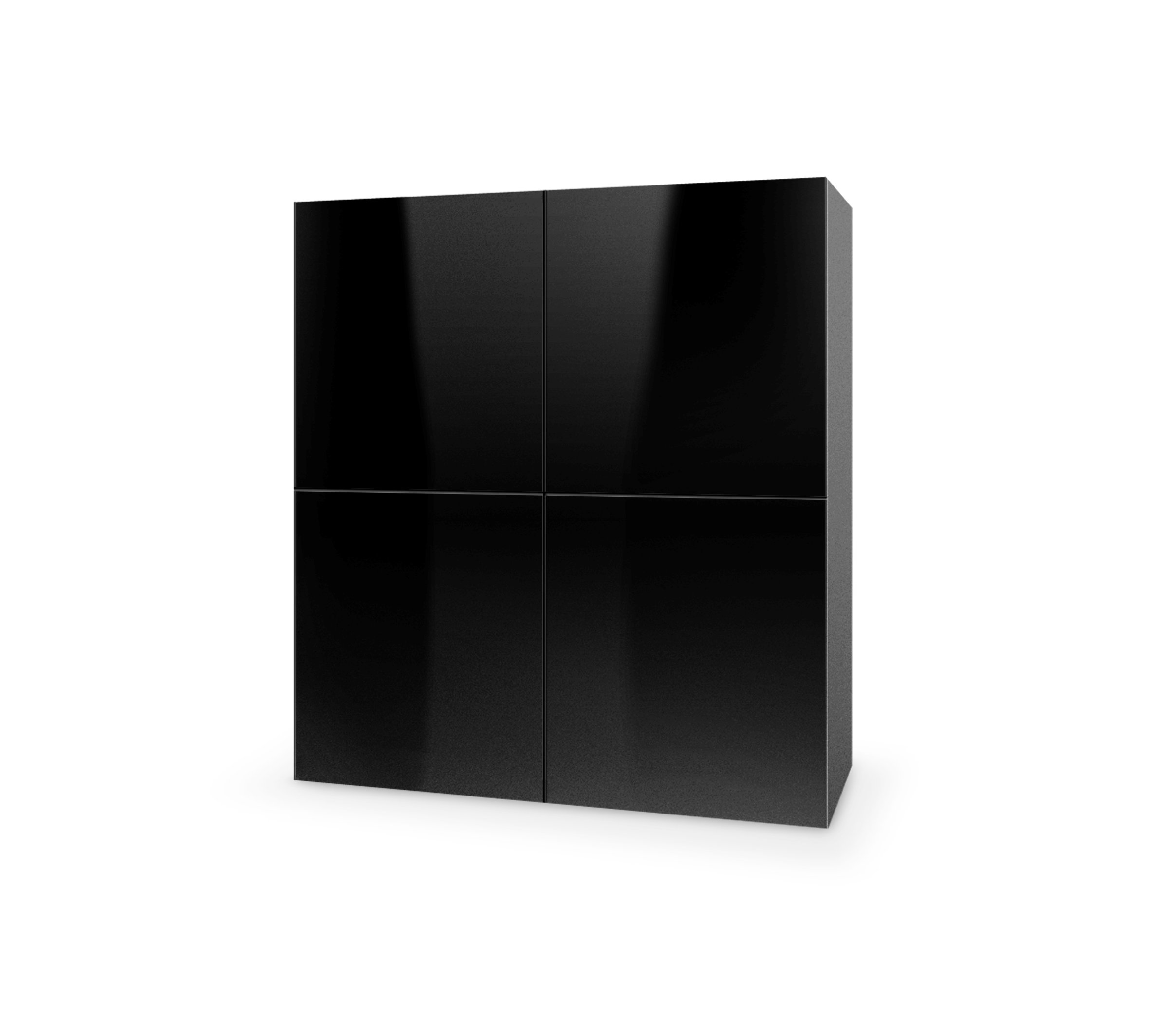Dulap din MDF Livo KM-100 Black